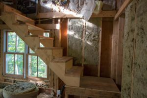 1st floor of Tree House - stairs to the 2nd floor